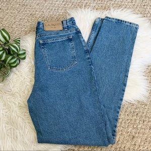 LA Blues   Vintage High Rise Classic Mom Jeans